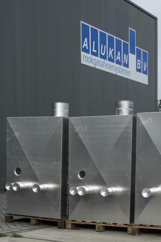 Rookgasafvoersystemen Alukan
