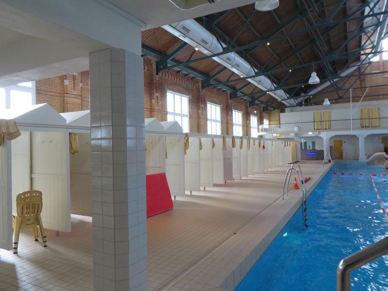 Binnenzijde zwembad Zuiderbad